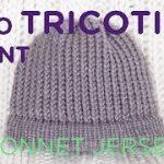 Tuto tricotin geant bonnet