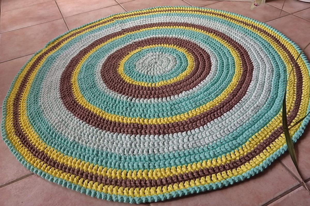 Tricoter un rond de serviette