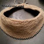 Tricoter en rond sans aiguille circulaire