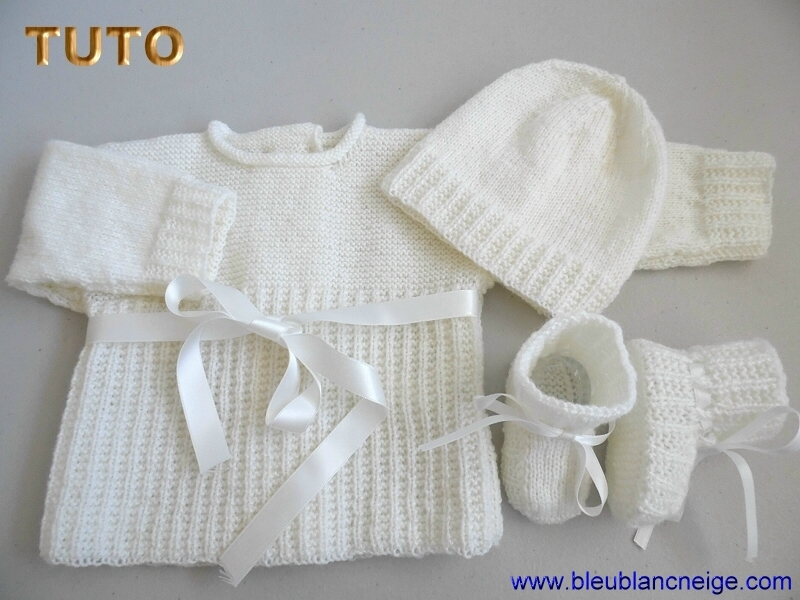 Tricot bébé mixte