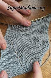 Tricoter en rond avec des aiguilles droites