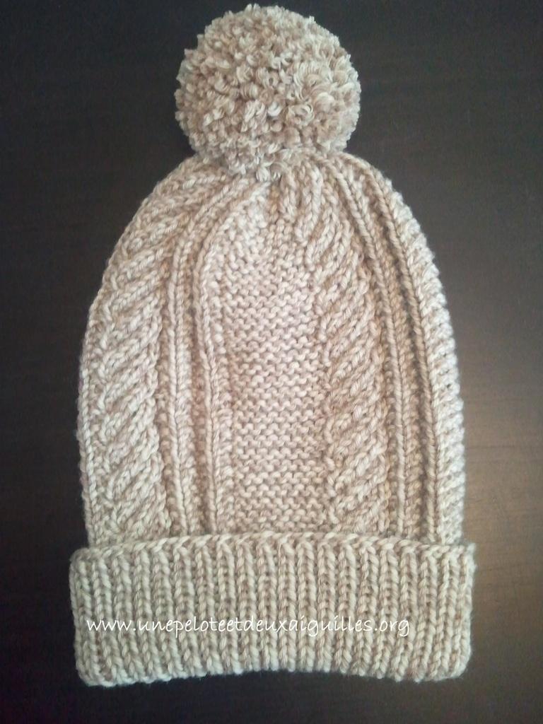 Tricoter un bonnet de laine