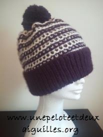 Tricoter un bonnet adulte