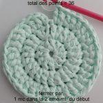 Tricoter un rond plat au crochet