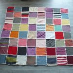 Tricoter un plaid patchwork