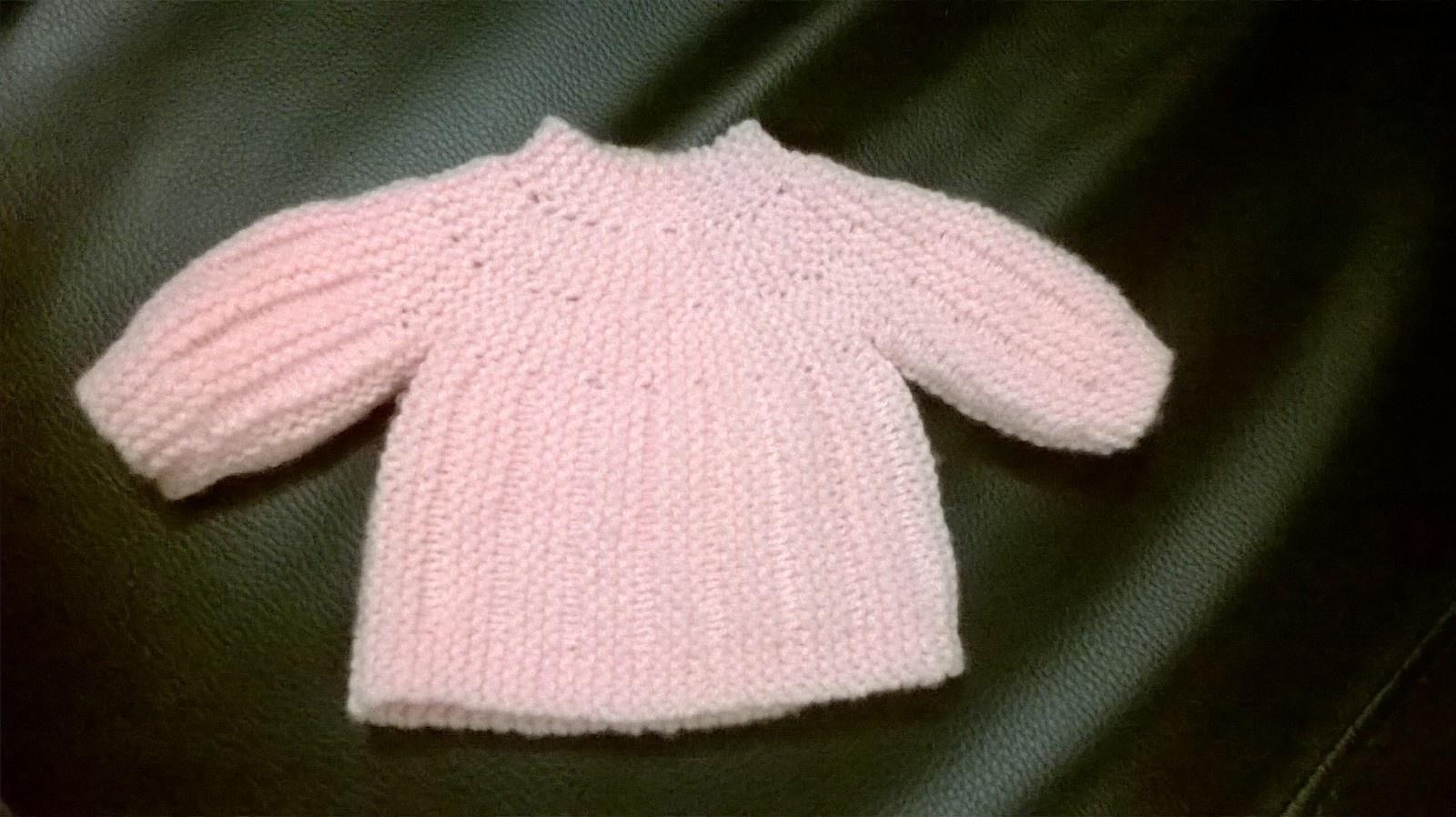 Brassière tricot bébé tuto