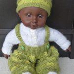 Tricoter habits poupon 30 cm