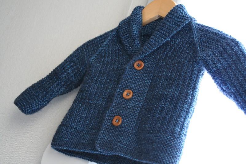 Tricoter veste bébé
