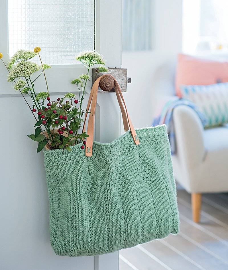 Tricoter sac a main