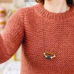 Patron tricot pull point de riz