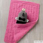 Couverture bébé tricot katia