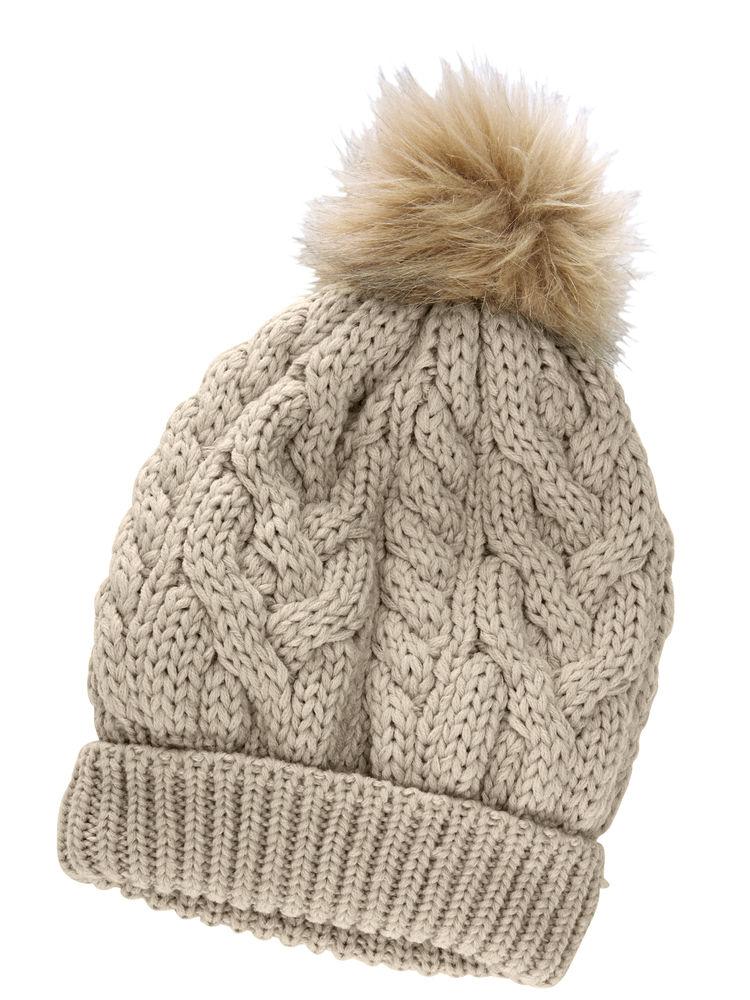 Tricoter un bonnet avec un pompon