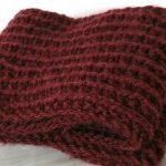 Tricot facile snood