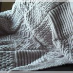 Tricoter un plaid tuto