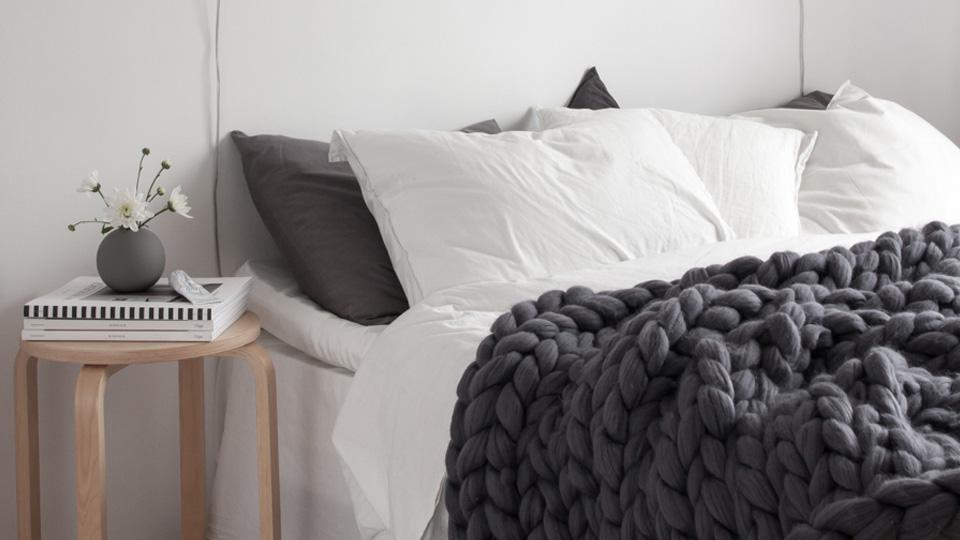 Tricoter son plaid en laine