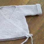 Tricoter brassière naissance