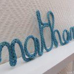 Tuto ecriture tricotin