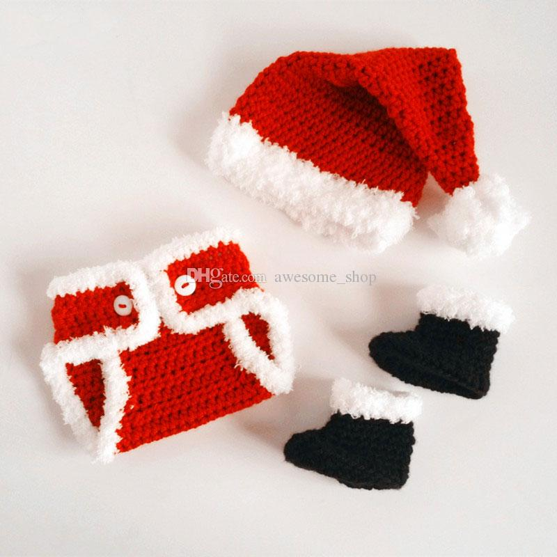 Tricot bebe rouge
