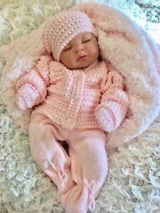 Tricot bebe reborn