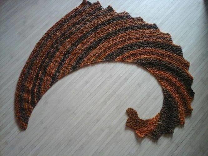 Tricot queue de dragon