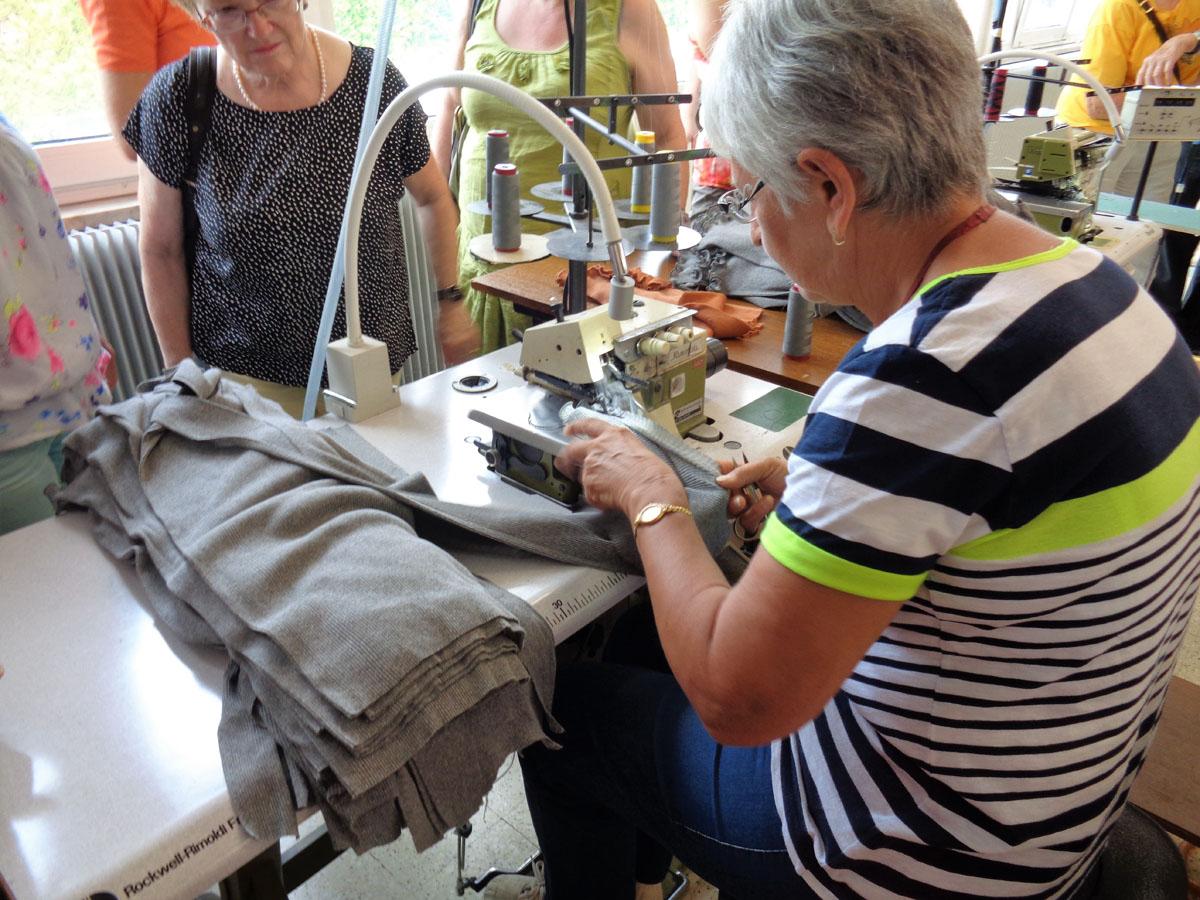 Tricotage mecanique marmoutier