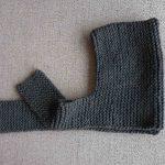 Bonnet bébé tricot original