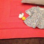 Tricot facile couverture bébé