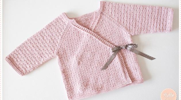 Tricoter layette naissance