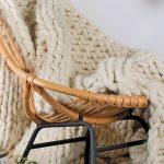 Tricoter plaid main