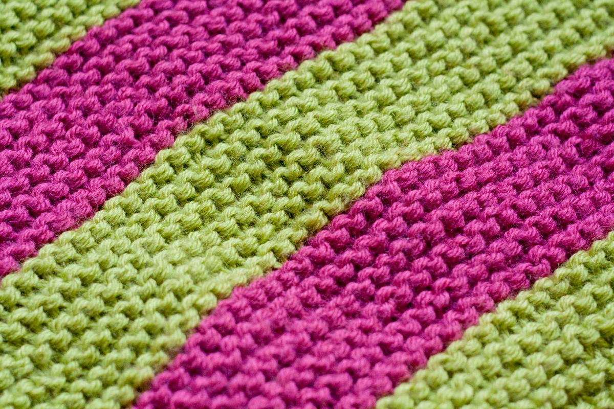 Comment tricoter un plaid pour bebe