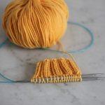 Tricoter en rond explication