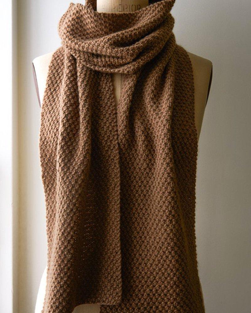 Modele tricot echarpe debutant