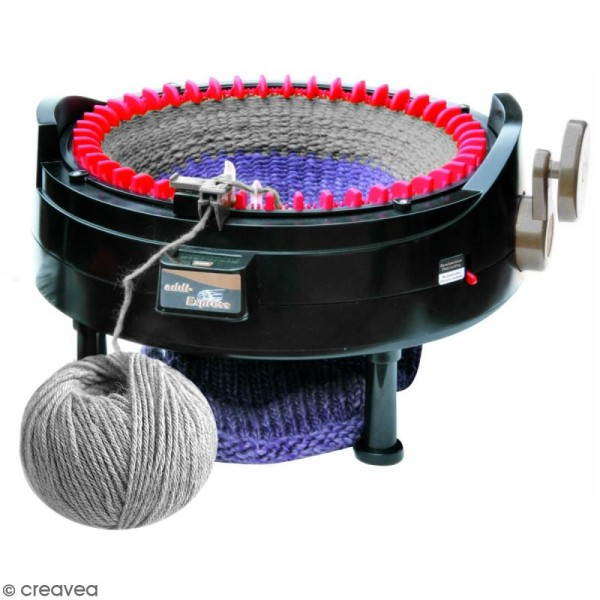 Tricotin geant automatique tuto
