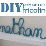 Tricotin lettre