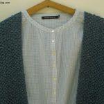 Tuto pull tricot point de riz