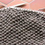 Apprendre le point de riz tricot