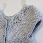 Robe tricot bébé tuto