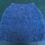Tricoter jupe en laine