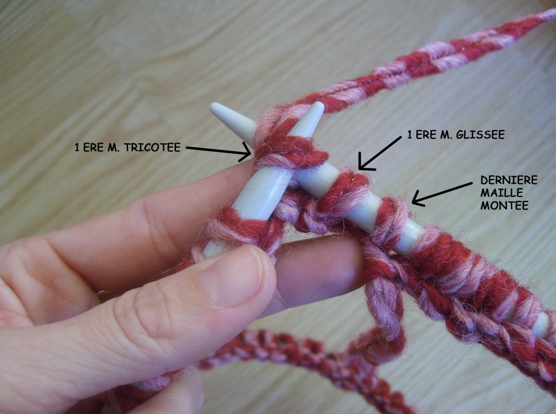 Tricoter en rond 2 aiguilles circulaires