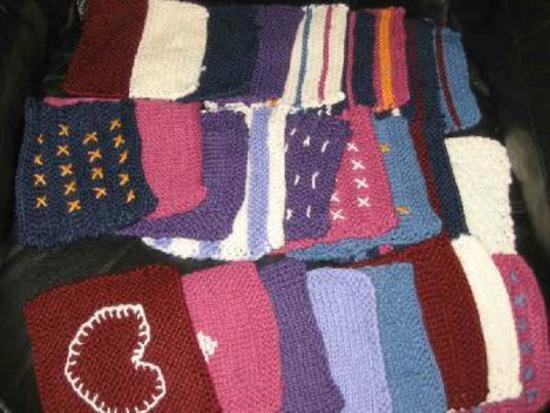 Plaid tricot facile hachette collection