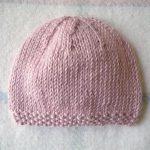 Tricot bonnet bébé facile gratuit