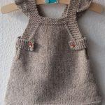 Tricoter robe bebe 6 mois
