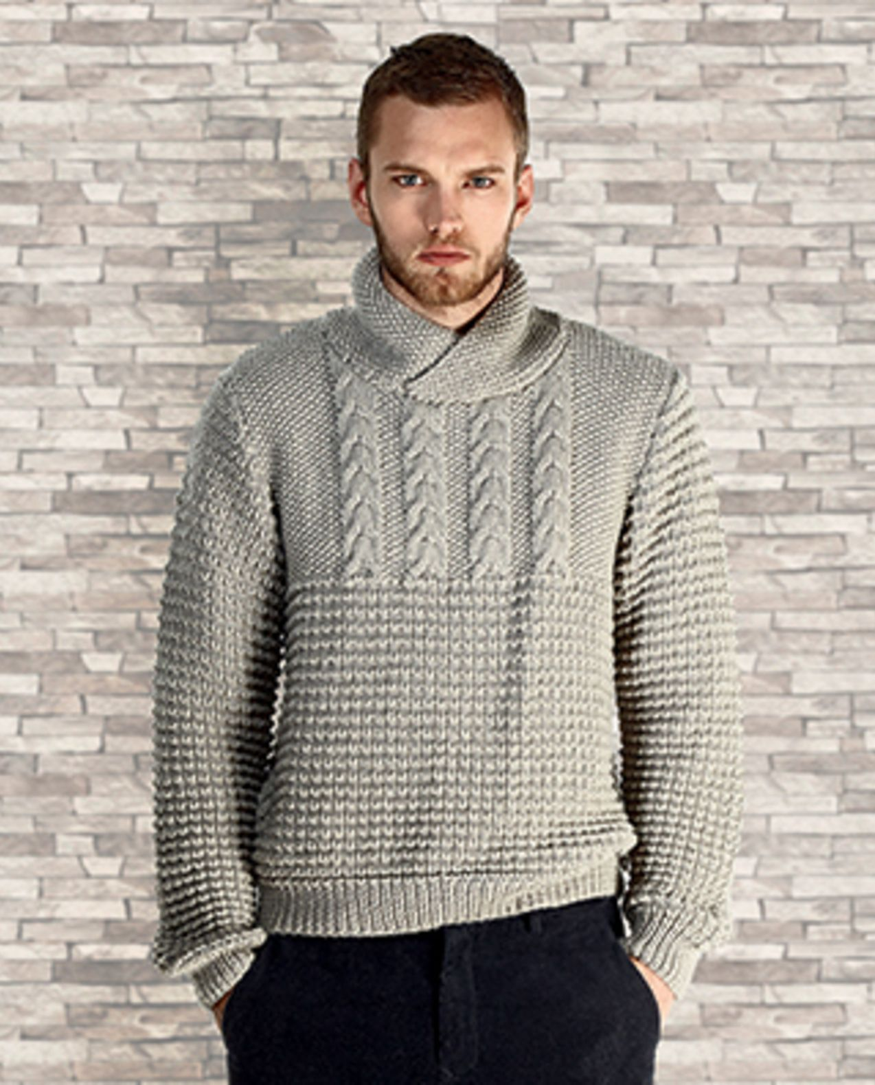 Tricot pull homme aiguille 5