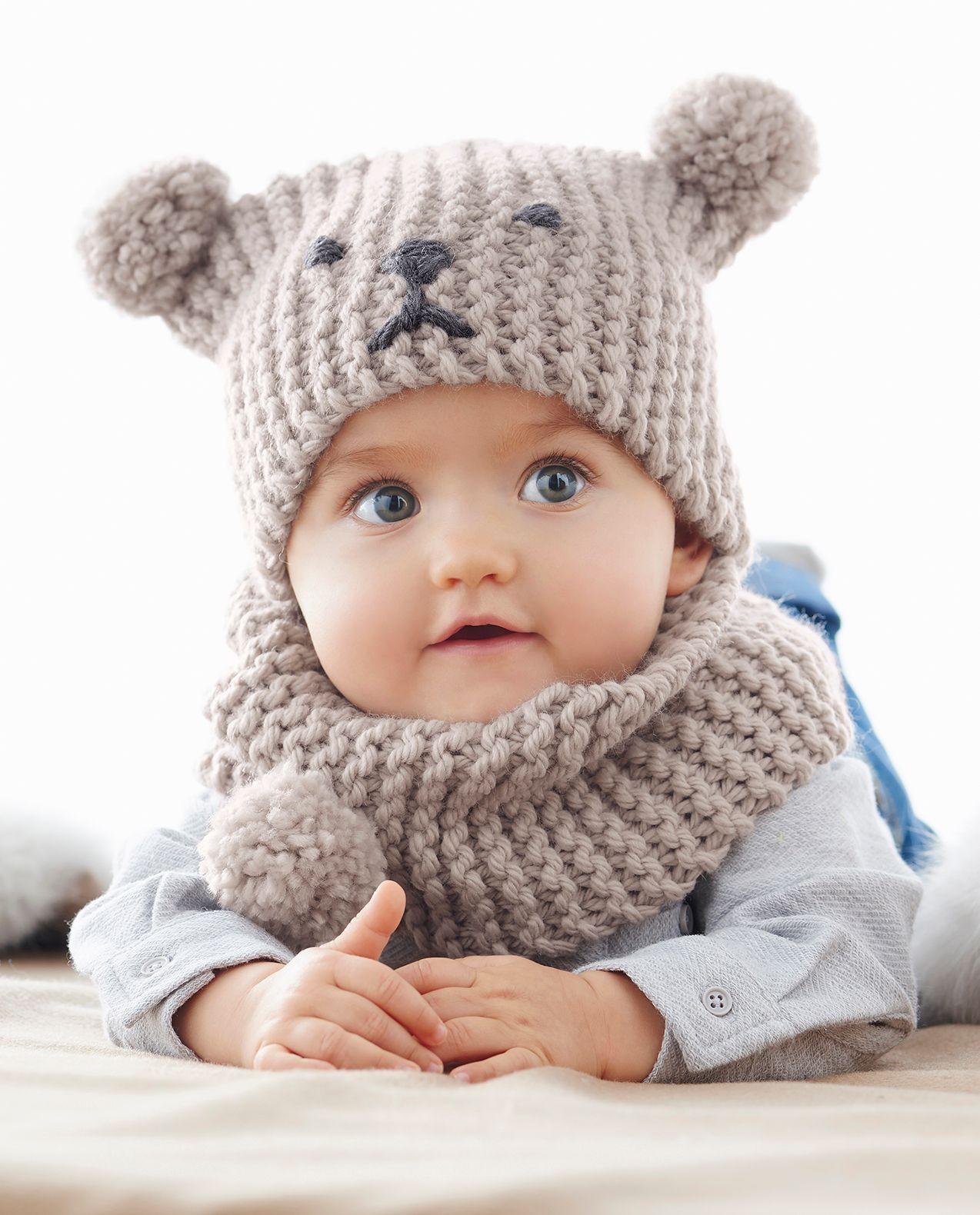 Tricot tuque bébé gratuit