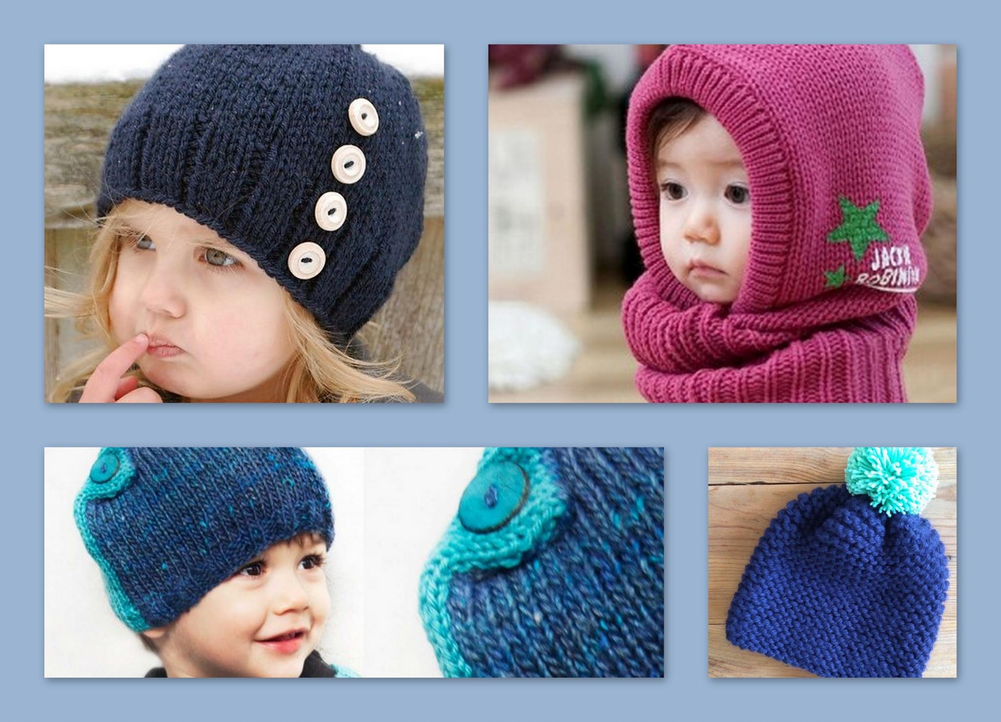 Tricot bonnet bébé patron