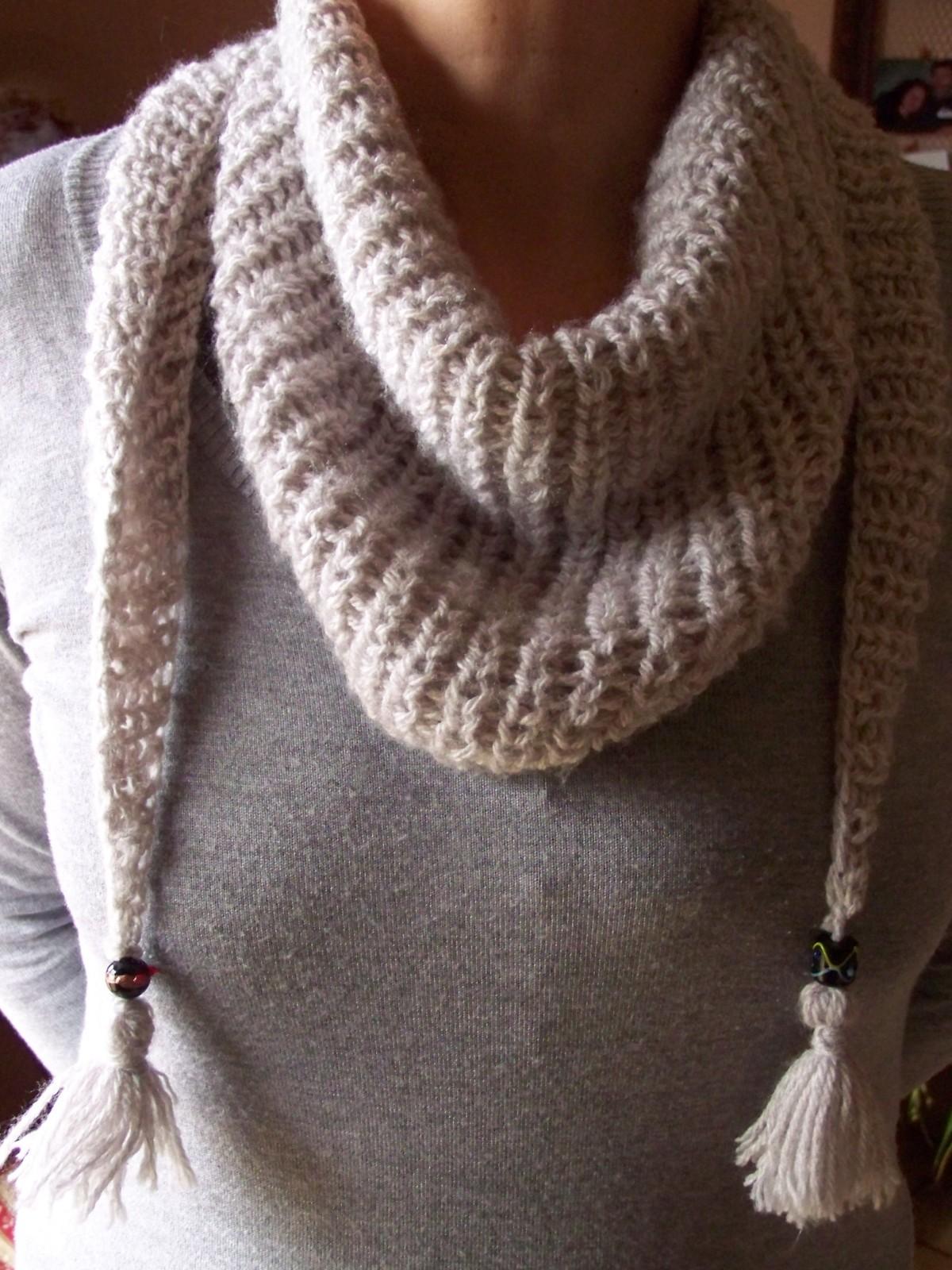 Modèle tricot aiguille n°10
