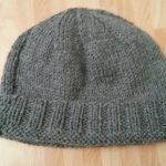 Tricot bonnet femme jersey