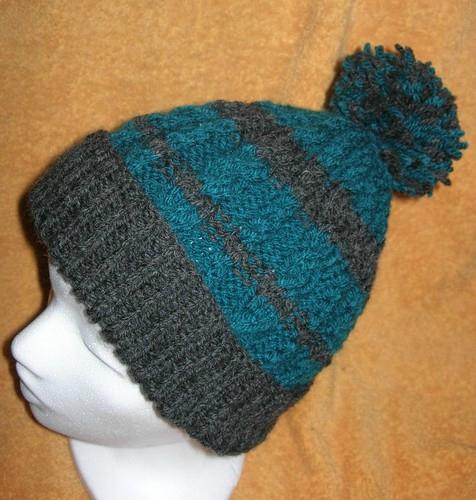Tricot bonnet aiguille 5