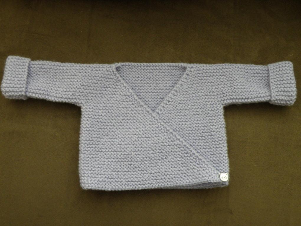 Modele tricot bebe gratuit avec explication
