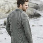 Tricot gilet homme facile